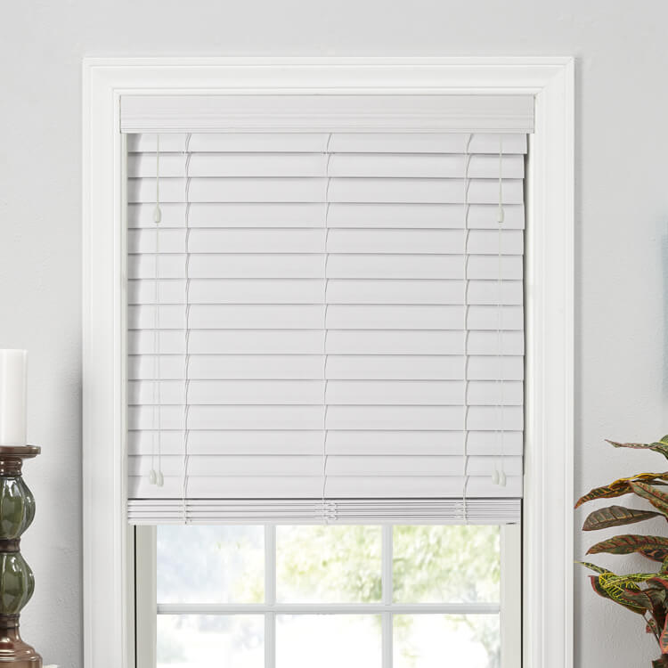 "2 1/2"" Double Bevel Composite Blinds"