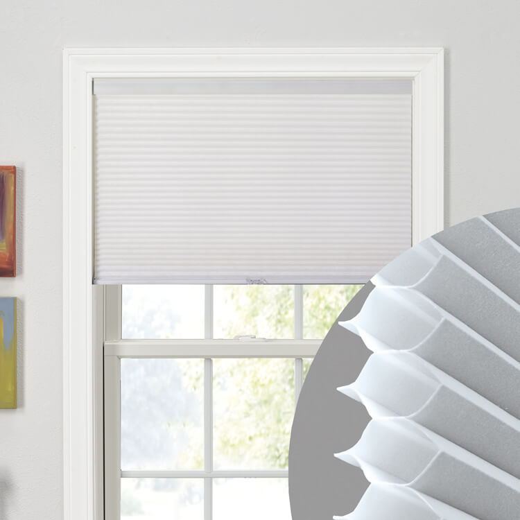 "3/8"" Single Cell Cellular Shades"
