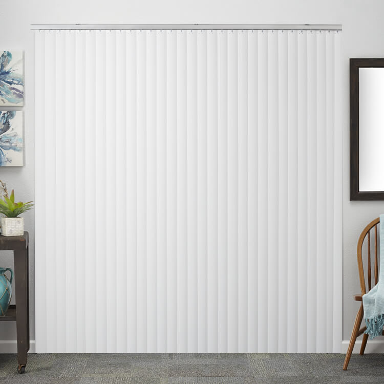 Shop traditional vertical blinds costco bali blinds for Bali blinds