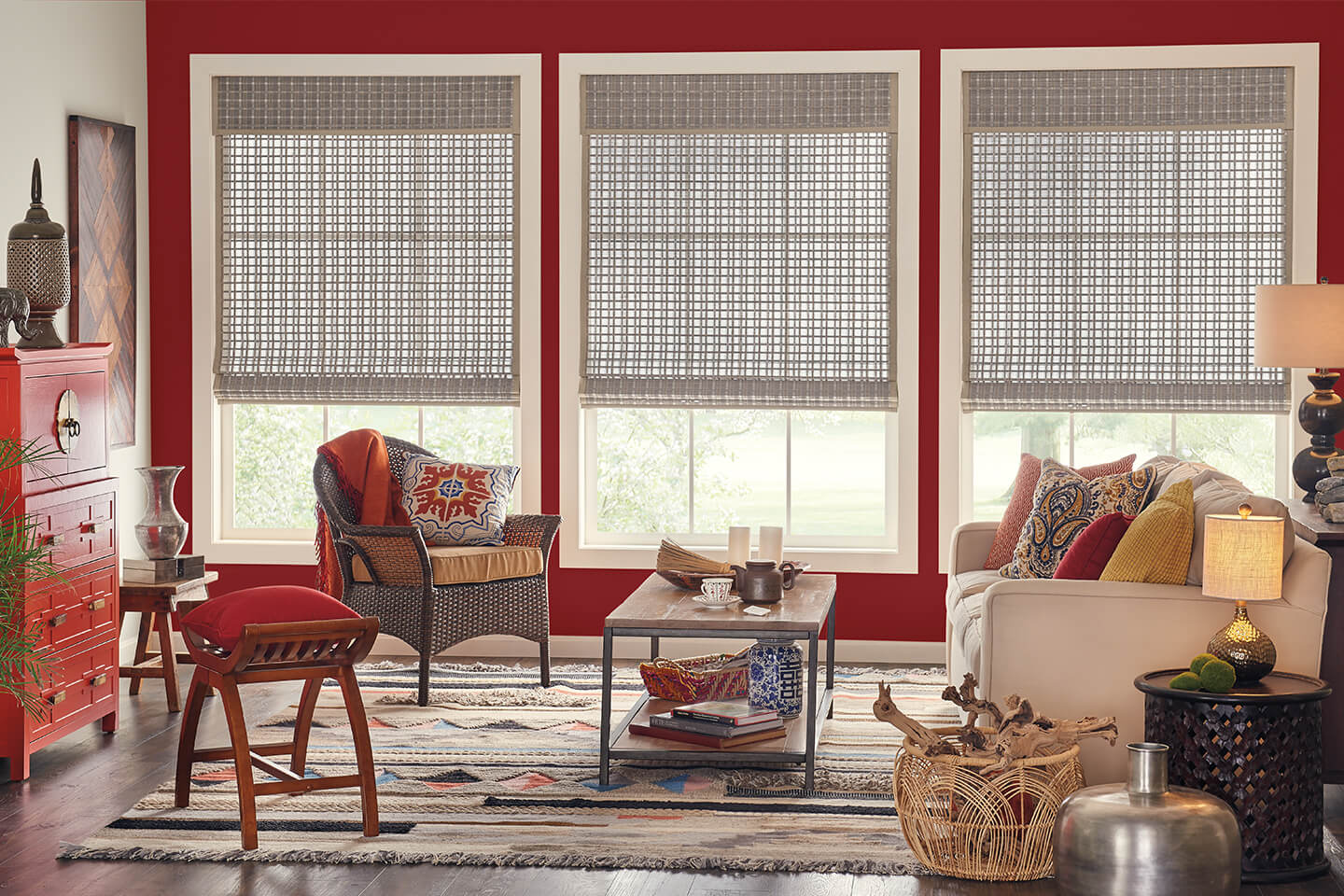 curtains coverings window elegant awesome hunter douglas decorative u lamps fresh costco with table home decorating interesting interior blinds furniture
