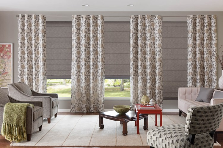 Custom Tailored Roman Shades Costco Bali Blinds and Shades