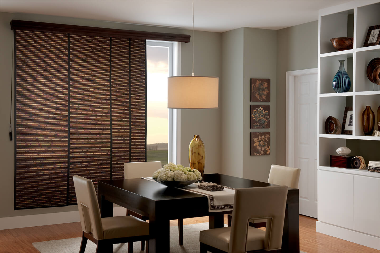 custom sliding panels costco bali blinds and shades. Black Bedroom Furniture Sets. Home Design Ideas