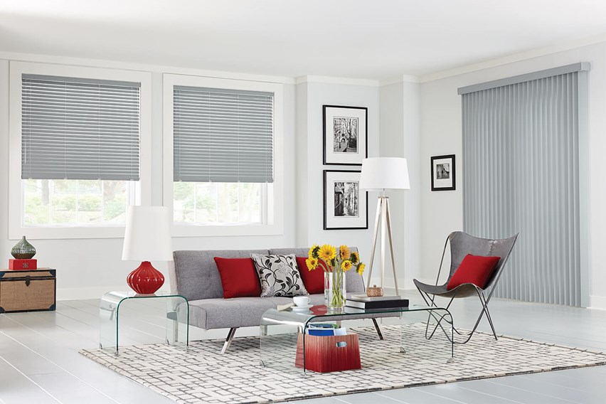 Vertical and Horizontal Blinds