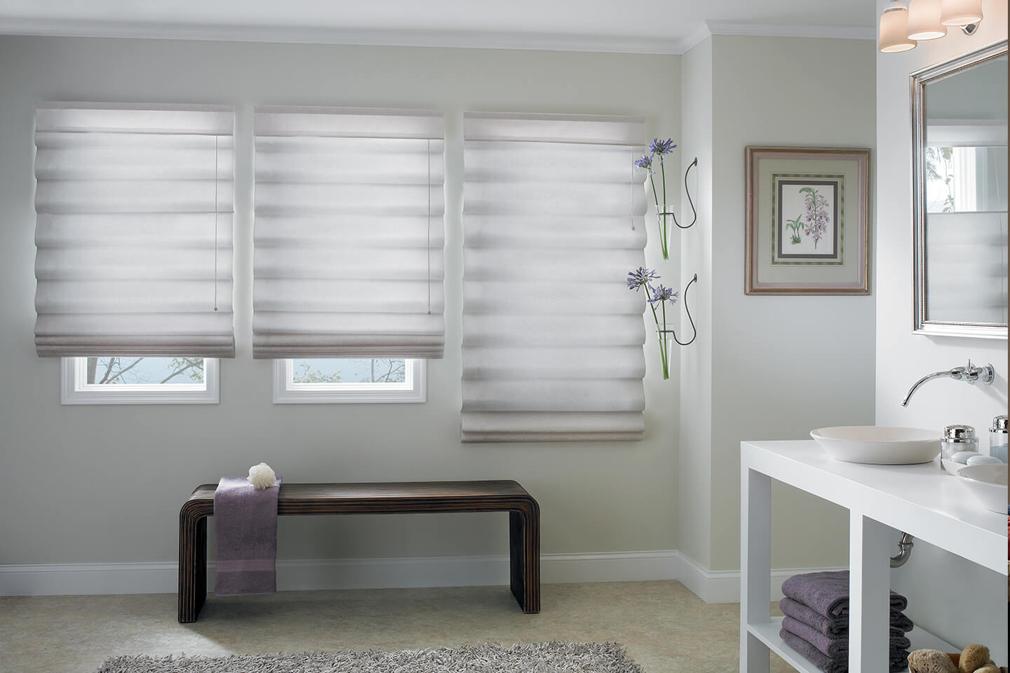 Shop Classic Roman Shades Costco Bali Blinds And Shades