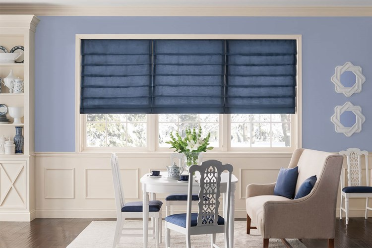 Tailored Roman Shades